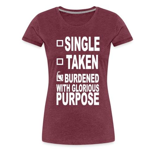 Glorious Purpose Basketball Mom T-Shirt - Women's Premium T-Shirt