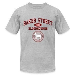 Baker Street Bloodhounds - Men's T-Shirt by American Apparel