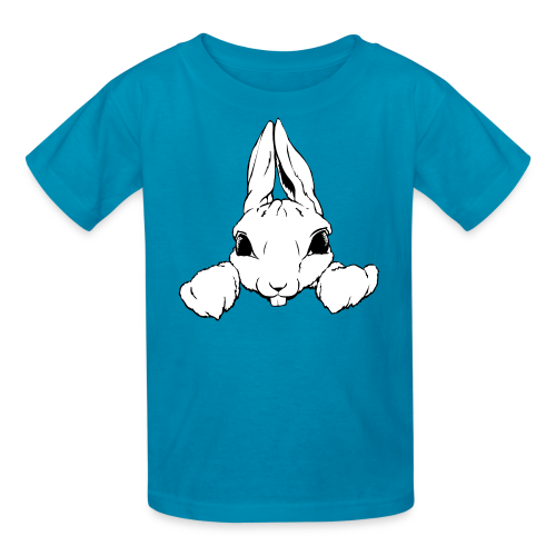 Easter Bunny T-shirts Kid's Pocket Rabbit Shirts - Kids' T-Shirt