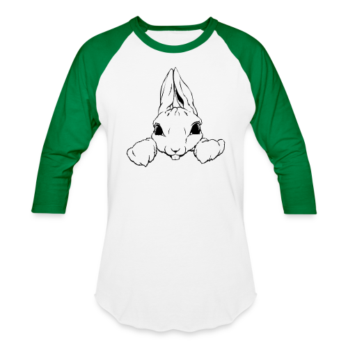 Easter Bunny Baseball Jersey Tough Bunny Shirts - Baseball T-Shirt