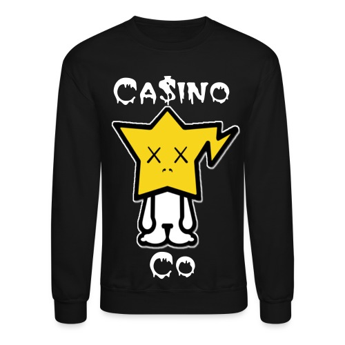 Kaws Black Casino Co. Crewneck - Crewneck Sweatshirt