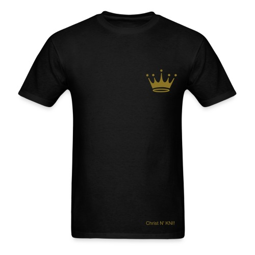 Men's Gold Crown GOD tee - Men's T-Shirt