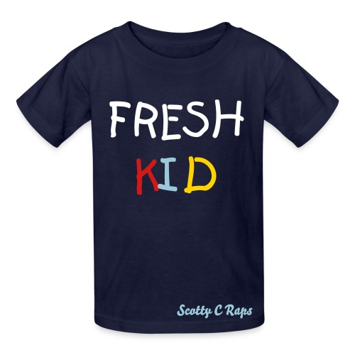 Fresh Kid Scotty C Raps Shirt - Kids' T-Shirt