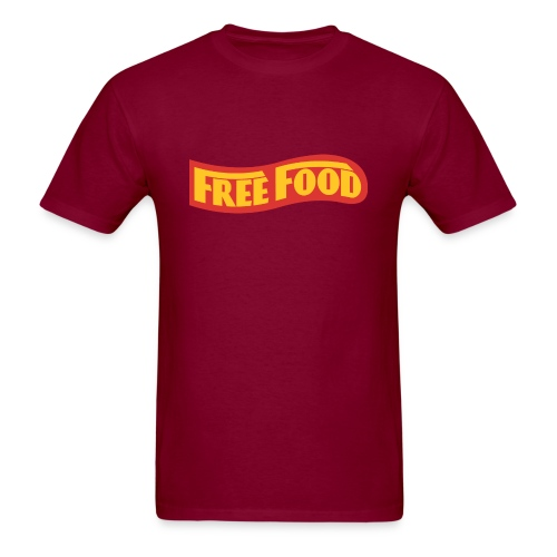 Free Food logo shirt - Men's T-Shirt