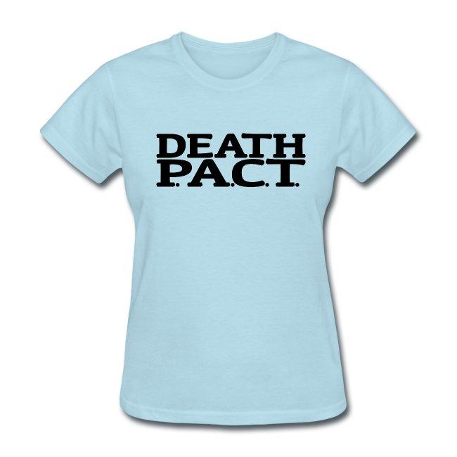 Death P.A.C.T. logo shirt