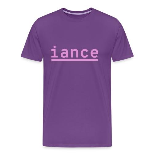 iance logo shirt - Men's Premium T-Shirt