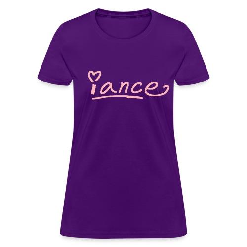 iance podium shirt - Women's T-Shirt