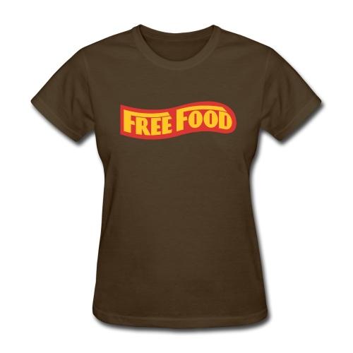 Free Food logo shirt - Women's T-Shirt