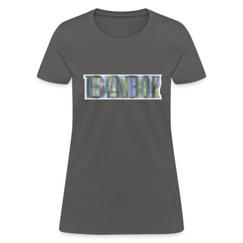 8 names said at once logo shirt - Women's T-Shirt