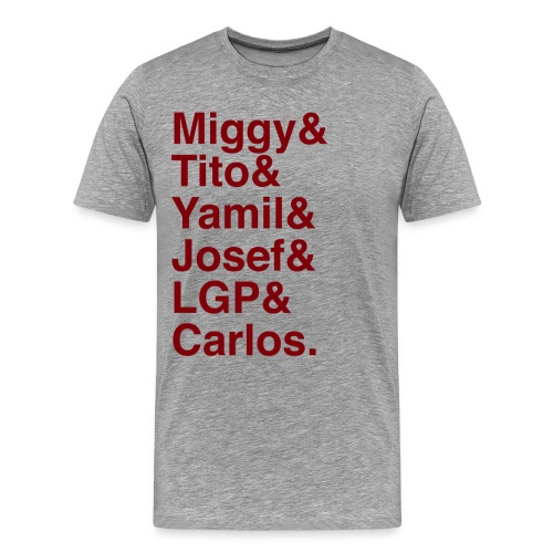 La Banda - Red - Men's Premium T-Shirt