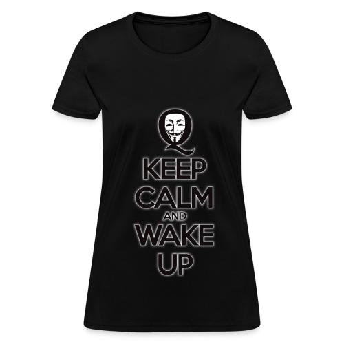Ladies Keep Calm Walk Up - Women's T-Shirt