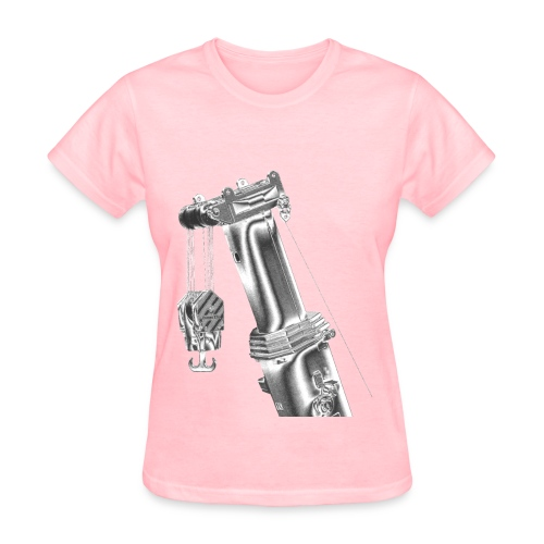 Mobile Crane Boom Top - Women's T-Shirt