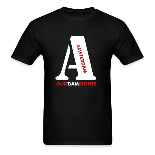 Amsterdam Rights - Men's T-Shirt