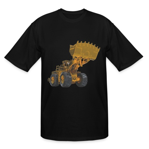 Old Mining Wheel Loader - Yellow - Men's Tall T-Shirt