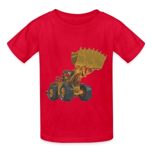 Old Mining Wheel Loader - Yellow - Kids' T-Shirt