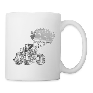 Old Mining Wheel Loader - Coffee/Tea Mug