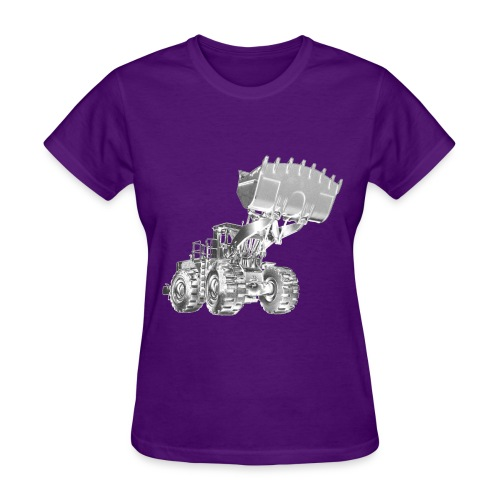 Old Mining Wheel Loader - Women's T-Shirt