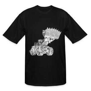 Old Mining Wheel Loader - Men's Tall T-Shirt