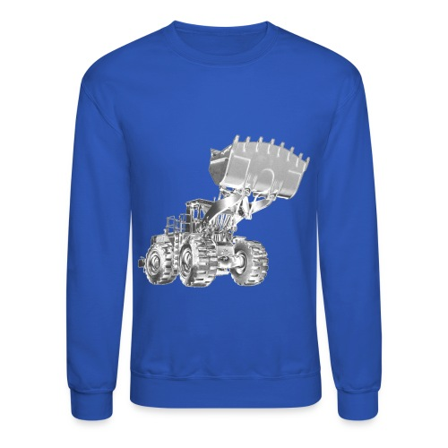 Old Mining Wheel Loader - Crewneck Sweatshirt