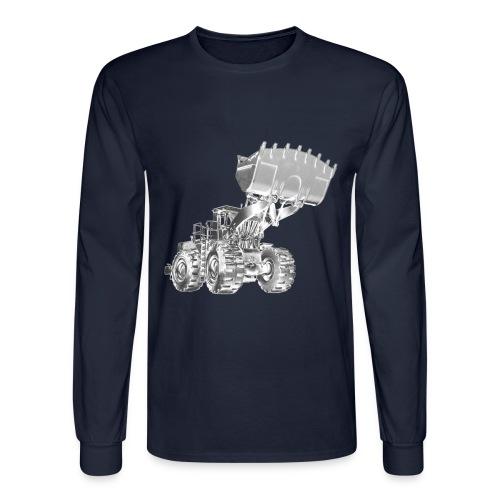 Old Mining Wheel Loader - Men's Long Sleeve T-Shirt