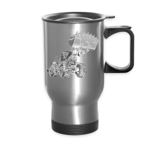 Old Mining Wheel Loader - Travel Mug