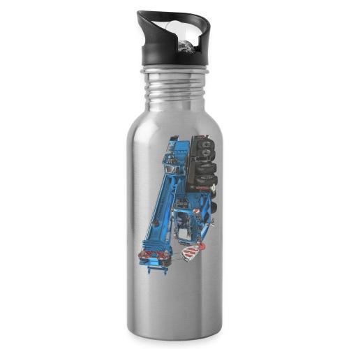 Mobile Crane 4-axle - Blue - Water Bottle
