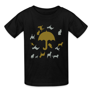 Its raining cats and dogs - Kids' T-Shirt