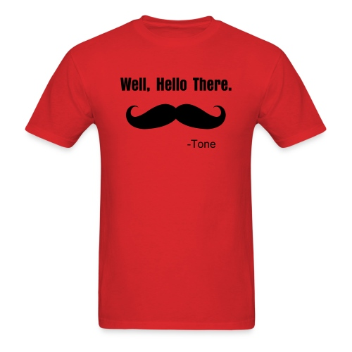 Tone's Hello There T! - Men's T-Shirt