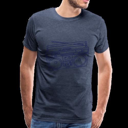 Boombox - Men's Premium T-Shirt
