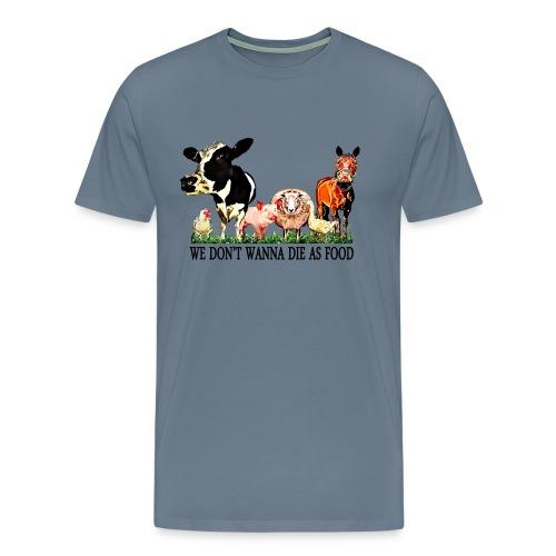 Loving Animals 3 - Men's Premium T-Shirt