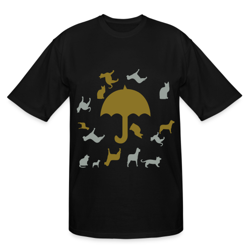 Its raining cats and dogs - Men's Tall T-Shirt