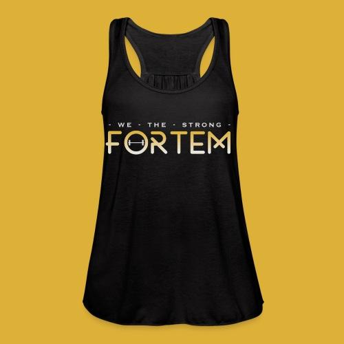 Fortem tank - Women's Flowy Tank Top by Bella