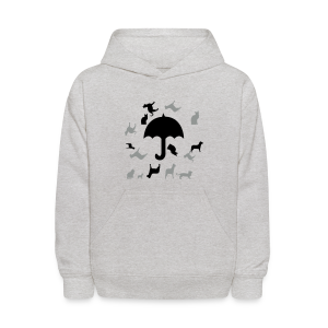 Its raining cats and dogs - Kids' Hoodie