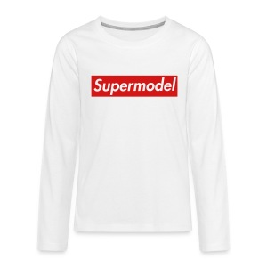 Supermodel Sweatshirt - Kids' Premium Long Sleeve T-Shirt