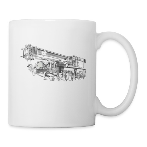 Mobile Crane 4-axle - Coffee/Tea Mug