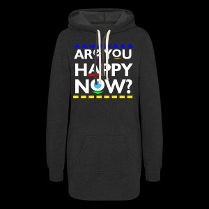 D*mn! Are you happy now? - Women's Hoodie Dress