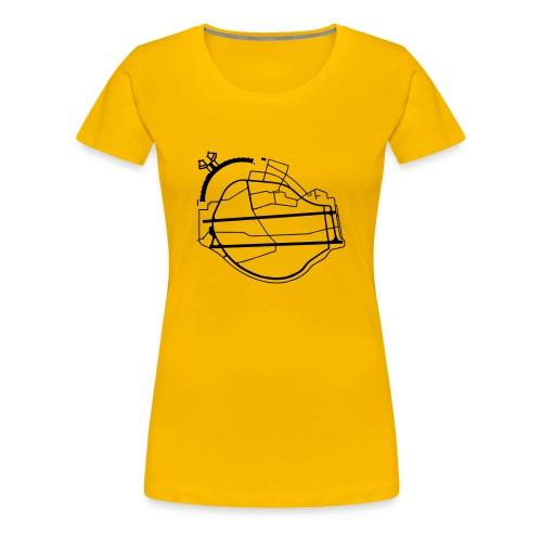 Berlin Tempelhof Airport - Women's Premium T-Shirt