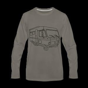 Caravan (mobile home) - Men's Premium Long Sleeve T-Shirt