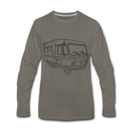 Caravan (mobile home) - Men's Premium Long Sleeve T-Shirt
