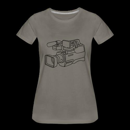 video camera - Women's Premium T-Shirt