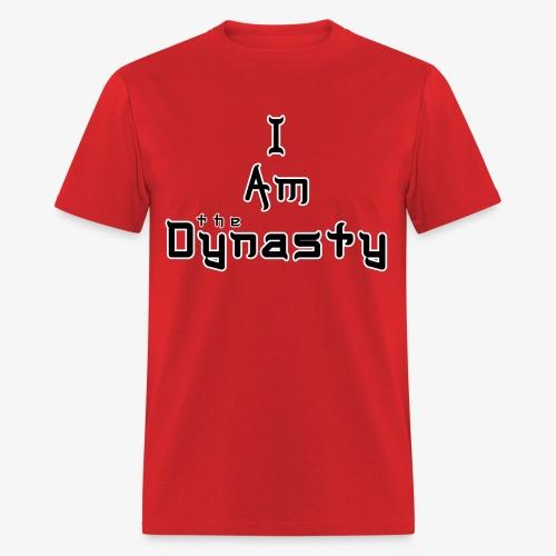 Dynas-Tee (Black Text) - Men's T-Shirt
