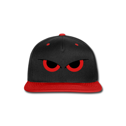 LemonRaptor Watchers Red/Black Hat - Snap-back Baseball Cap