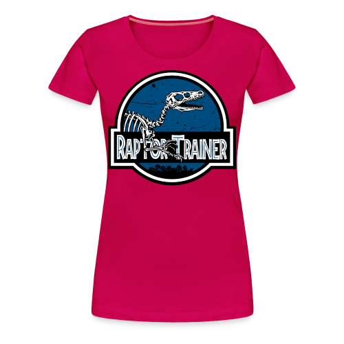 LemonRaptor Raptor Trainer Pink Women's Premium Shirt - Women's Premium T-Shirt