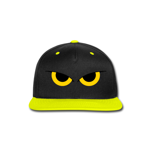 LemonRaptor Watchers Yellow/Black Hat - Snap-back Baseball Cap