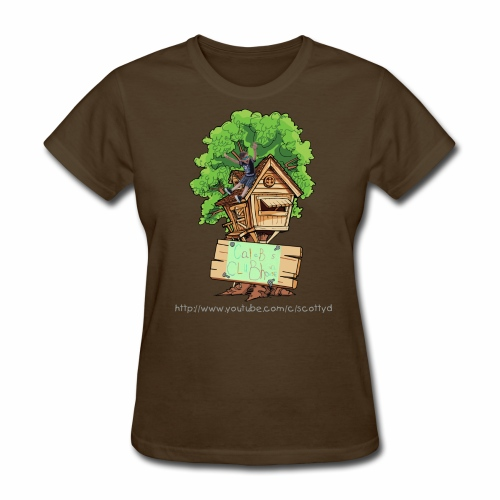 WOMEN'S - Caleb's Clubhouse! - Women's T-Shirt