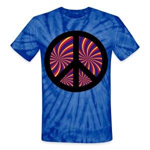 Peace Design - Unisex Tie Dye T-Shirt