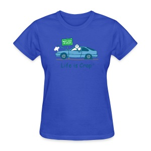 Broken Down - Womens Classic Tee - Women's T-Shirt