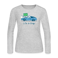 Long Sleeve Shirts ~ Women's Long Sleeve Jersey T-Shirt ~ Broken Down
