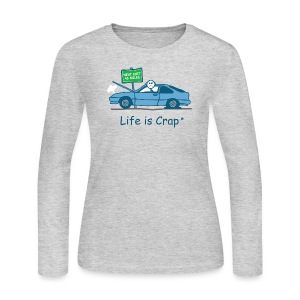 Broken Down - Women's Long Sleeve Jersey T-Shirt