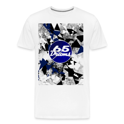 65 Drums B&W Logo Shirt - Men's Premium T-Shirt